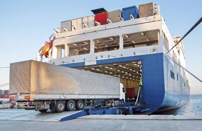 Frachtfähre | Transcamion